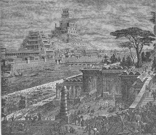Fun Facts And Images Of The Hanging Gardens Of Babylon Seven Ancient Wonders Of The World
