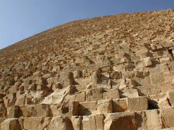 giza pyramid blocks 10 interesting facts about the Great Pyramid of Giza